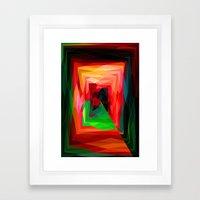 A Maze Ment Framed Art Print