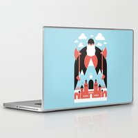 mountain Laptop & iPad Skins featuring King of the Mountain by Chase Kunz