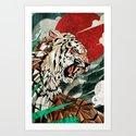 """""""Panthera Tigris"""" Art Print"""