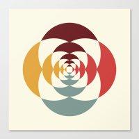Good Vibratons [Blooms] Canvas Print