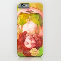 iPhone & iPod Case featuring Princess of the forest by Aurora Wienhold