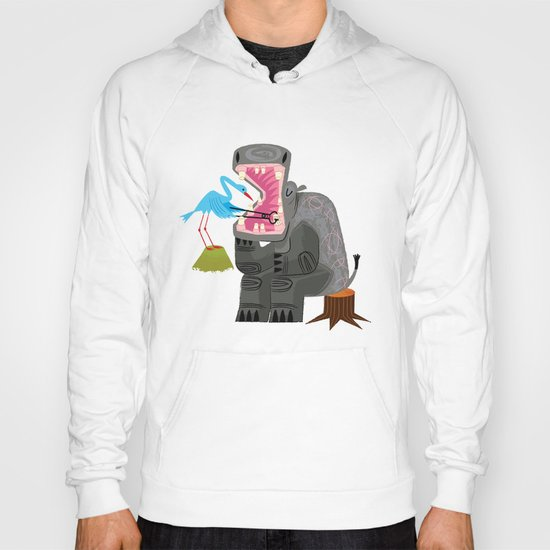 Hippopotamouth Hoody