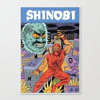 Shinobi Canvas Print
