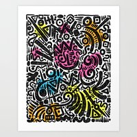 ABSTRACT 013 Art Print