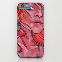 Girl With a Squirrel Earring iPhone 6 Slim Case