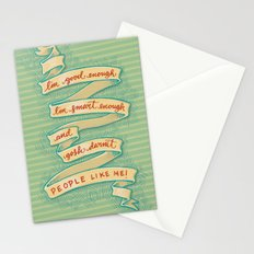 Gosh darnit people like me! Stationery Cards