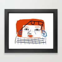 Fashion Women, fashion, fashion illustration, art, design, fun, pattern, people,  Framed Art Print