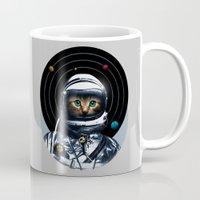Space Kitten Mug
