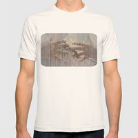 hands can hold Mens Fitted Tee Natural SMALL