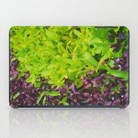 Green Waves iPad Case