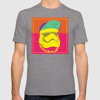 Fresh Trooper Mens Fitted Tee Tri-Grey SMALL