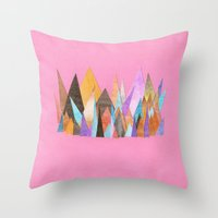 Landscape Sprouts 3 Throw Pillow