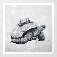 Tortoise Tree - Fall Art Print