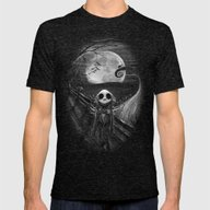 The Scream Before Christ… Mens Fitted Tee Tri-Black SMALL