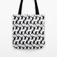 Xtooth Tote Bag