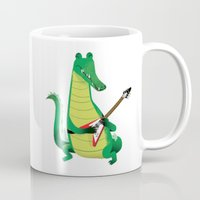 Crocodile Rock Mug