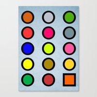 Why a Square? Canvas Print