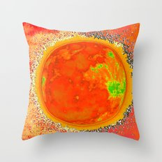 Luna Solar Throw Pillow