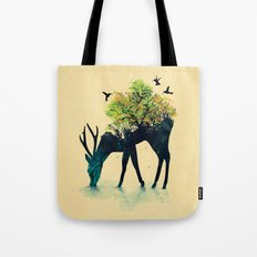 Watering (A Life Into It… Tote Bag