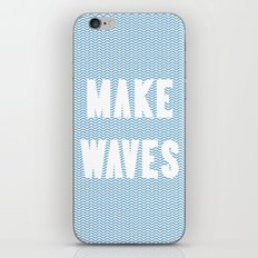 Make Waves iPhone & iPod Skin