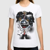 Bonkers In Love  Womens Fitted Tee Ash Grey SMALL