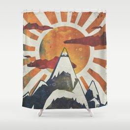 Shower Curtain - Mount Spitfire - Kardiak