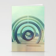 Stationery Cards featuring Intervention 18 by Viviana Gonzalez