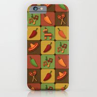 iPhone & iPod Case featuring Mexican Squares by Matt Andrews