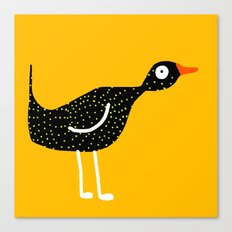 bird - yellow Canvas Print