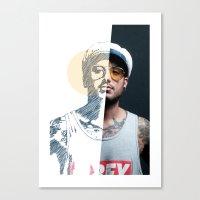 Mitades #01 Canvas Print