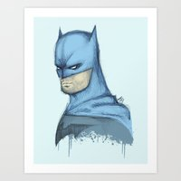 Watchful Protector Art Print