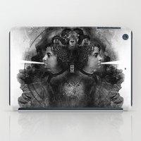 White Noise iPad Case