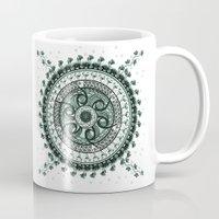 Classical Circle Turquoi… Mug