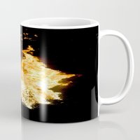 Face in the Flames Mug