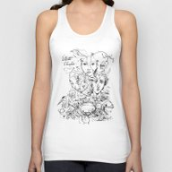 Elliott Chocolate Wormwo… Unisex Tank Top