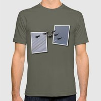 USAF Thunderbirds Mens Fitted Tee Lieutenant SMALL