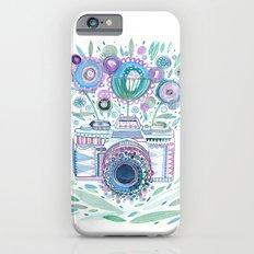 flower camera iPhone 6 Slim Case