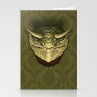 Dragon Head Stationery Cards