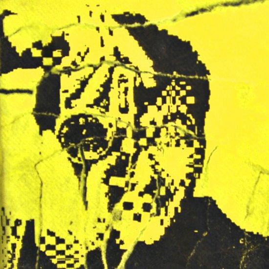 Pecker Portrait in yellow | John Waters Art Print