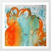 Abstract #40 Art Print