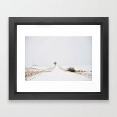 Winter Tree Framed Art Print