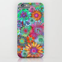 Rivalry of Flowers - multicolor iPhone 6 Slim Case