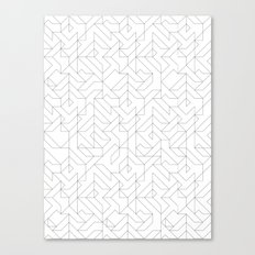 Geometric Camo Canvas Print