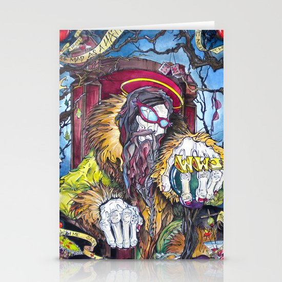 The Hatter Stationery Card