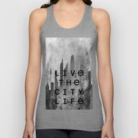 Live The City Life Unisex Tank Top