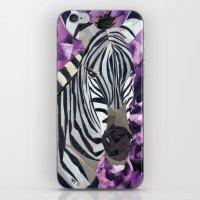 Zebra! iPhone & iPod Skin