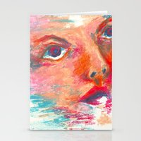Color Swept Stationery Cards
