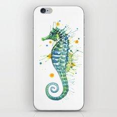 Seahorse: Green iPhone & iPod Skin
