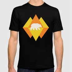 Bear SMALL Black Mens Fitted Tee