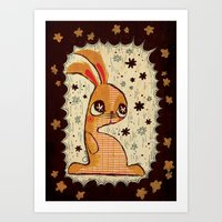 The Velveteen Rabbit Art Print
